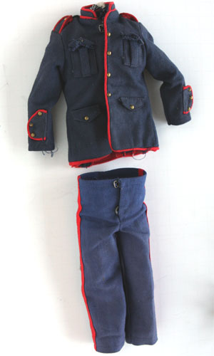 GI Joe First issue TM Hong Kong tagged Dress Marine Uniform