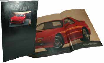 1990 Mazda RX7 dealers brochure
