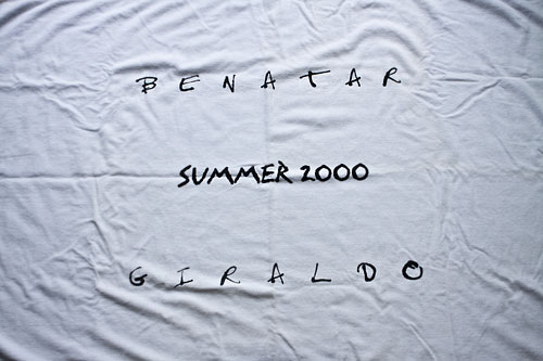 Benatar Beach Towel 2000 Tour