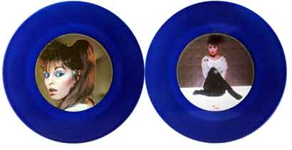"Pat Benatar 12"" Special Blue Vinyl Disc - Shadows Of The Night"