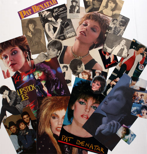 Pat Benatar clippings