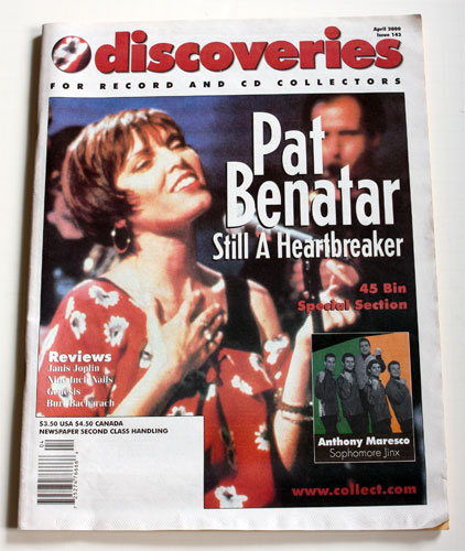Pat Benatar - Discoveries Magazine 2000