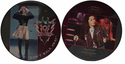"Pat Benatar 12"" Picture Disc - Don't Walk Away"