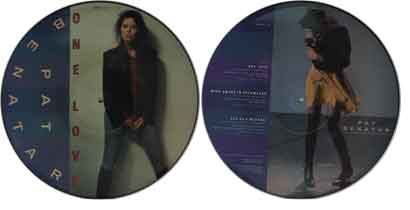 "Pat Benatar 12"" Picture Disc - One Love"