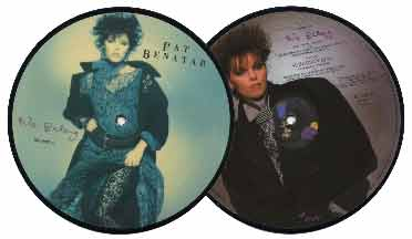 Pat Benatar 7' Picture Disc - We Belong
