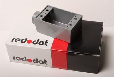 Red Dot AFS-2 Weatherproof Enclosure