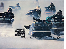 1975 Arctic Cat Dealers poster El Tigre' FULL SIZE