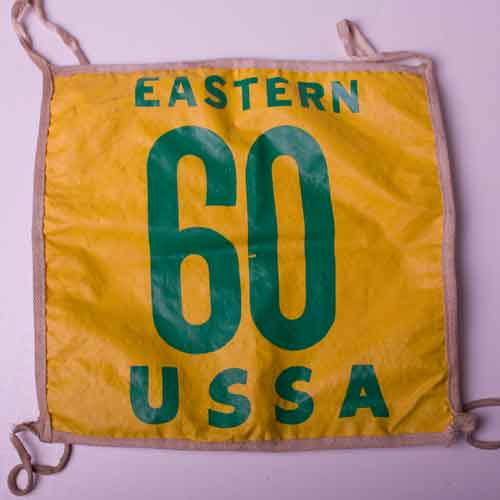 #60 racing bib USSA Ev Regal Arctic Cat racing