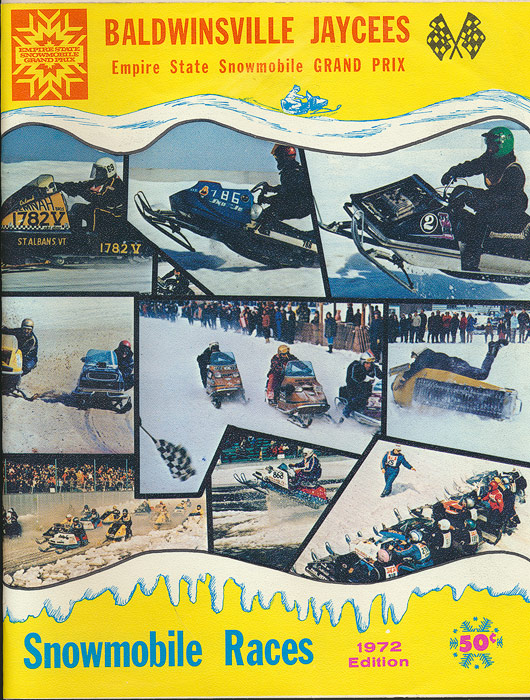 Empire State Snowmobile Grand Prix Snowmobile Races 1972