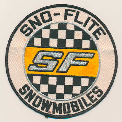 Sno-Flite snowmobile patch