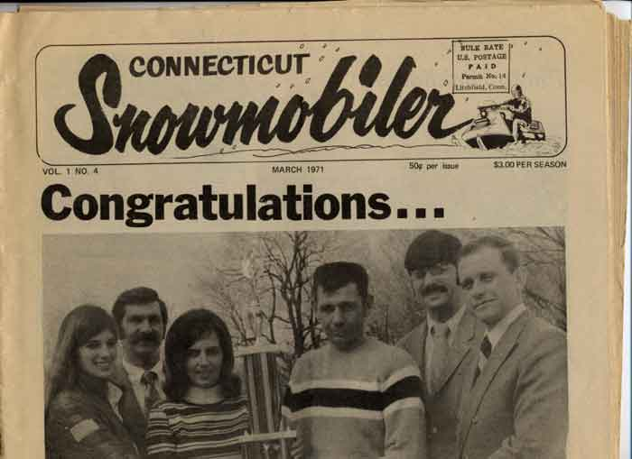 Connecticut Snowmobiler Newspaper