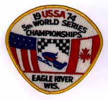 5th USSA World Series patch 1974
