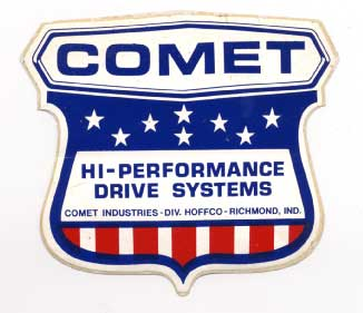 original Comet Clutch sticker